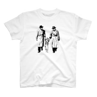 捕まったネコ(クリエ) T-shirts