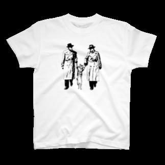 モアクリの捕まったネコ(クリエ) T-shirts