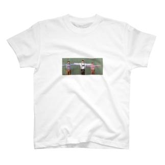 Tの三人 nanaco edition T-shirts