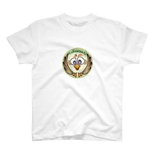 梟丸紋-2 T-shirts