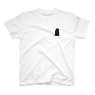 ロングヘアガール T-shirts