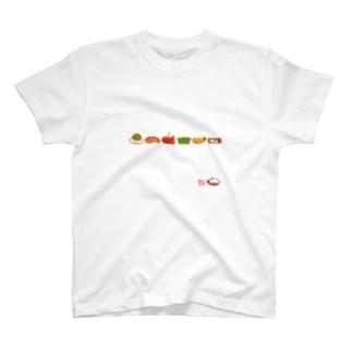 お弁当シリーズ-01 T-shirts