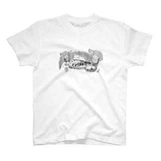 お魚のサパー T-shirts