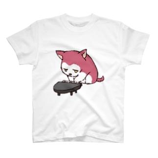 ちるふ(ピアノ狼) T-shirts