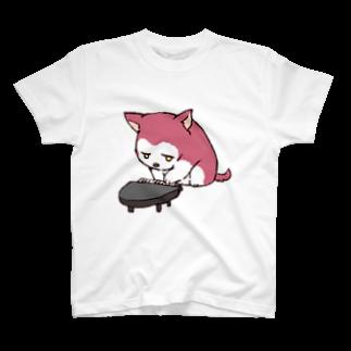 ちるふショップのちるふ(ピアノ狼) T-shirts