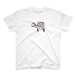飲んでるJammy T-shirts