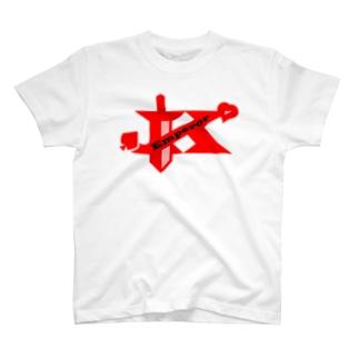 エンペラーグッズ レッド T-shirts