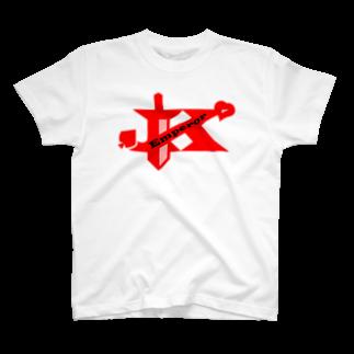 たちこまのエンペラーグッズ レッド T-shirts