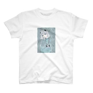 ぱんはぱんでもたべられないぱんはぱーんだ T-shirts