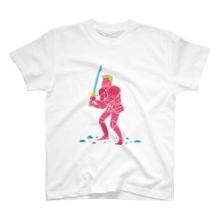pink knight T-shirts