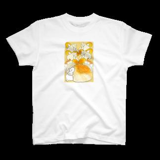 maesae-youmeのぱんとまふふ T-shirts