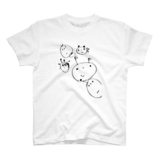 かわいいおえかき T-shirts