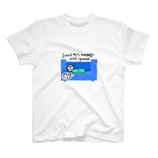 既読スルー宣言 T-shirts