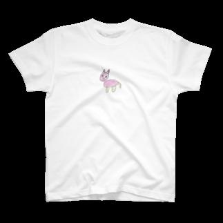 Biala Roza Szlachetnyのねこちゃん T-shirts
