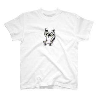 ワオキツネザルキッズ T-shirts