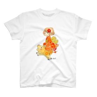 猪突猛進 T-shirts