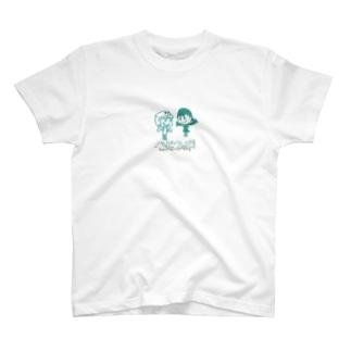 happiewbe -テーマ画像- T-shirts