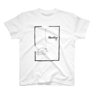 Marking -風船- T-shirts