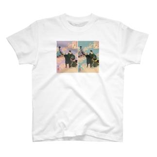 イケ彦星イケ織姫 T-shirts