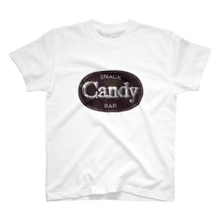 キャンディ T-shirts
