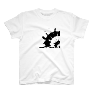 imAgeのBk&Wt T-shirts