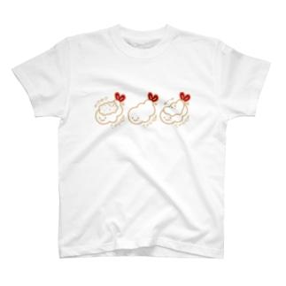 2色3食(しぶい) T-shirts
