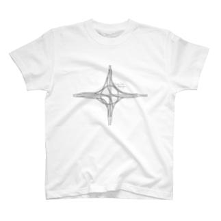 ハーフタービン型インターチェンジ T-shirts