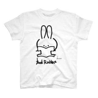 ラビットブックス by honne T-shirts