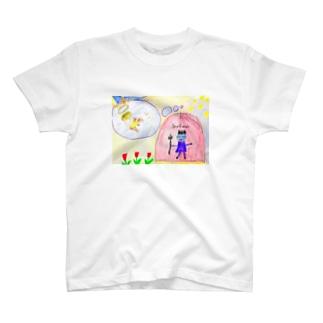 天使と悪魔 T-shirts