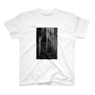 氷柱 T-shirts