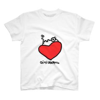 愛に溺れる T-shirts