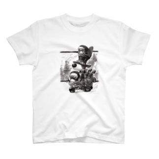 トトくんスチームパンク風 T-shirts