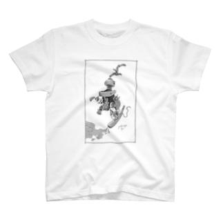 ラクガキのじかん。01 Tシャツ