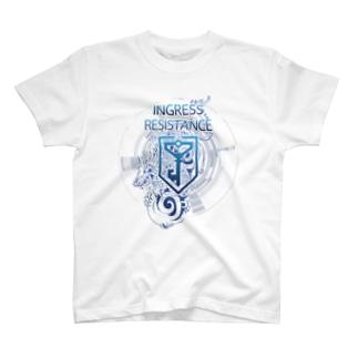 INGRESS RESISTANCE BlueDragon T-shirts