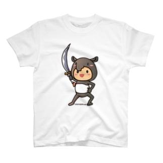 ばくばく団 T-shirts