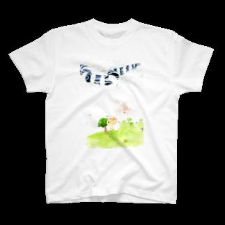 沖野耕一のみずたまりの世界 T-shirts