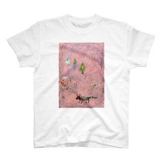 ムラナギ/ピンクブック Tシャツ