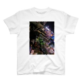 beautiful city SHIBUYA T-shirts