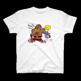 くまごんたのactive tokyo T-shirts