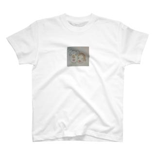 じじとさる T-shirts