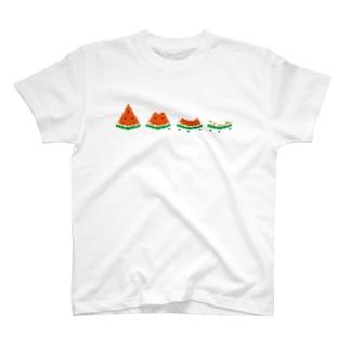 スイカ2 T-shirts