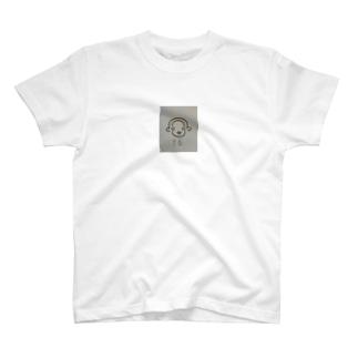 幸せ招くさる T-shirts