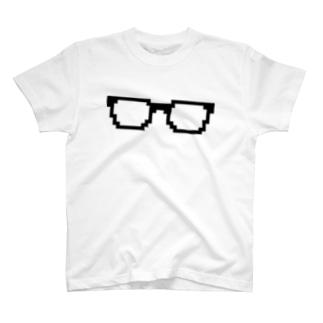黒ぶちめがね T-shirts