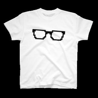ckokの黒ぶちめがね T-shirts