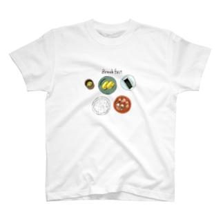 朝食 T-shirts