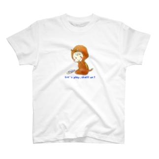 momomomotamaのいのししBOY T-shirts