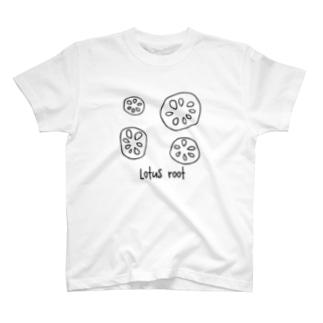 レンコン T-shirts