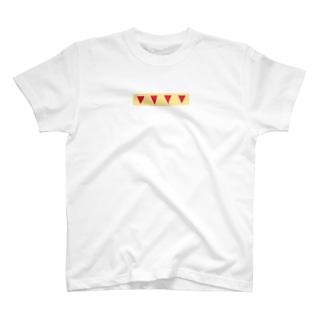 ケーキショートケーキ T-shirts