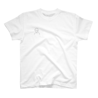 ゆるイラ#ピアスのお姉さん。 T-shirts