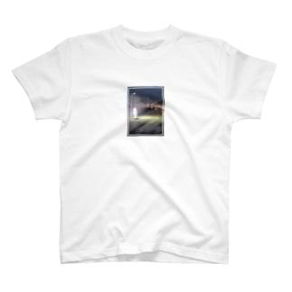 工場地帯コンビニTシャツ T-shirts